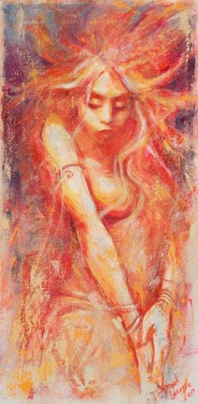 Une artiste de chez nous à découvrir : Anouk lacasse.ca