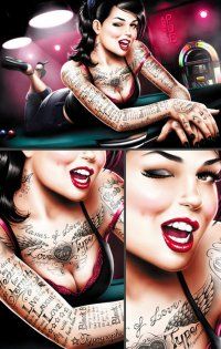 Tattoos girl