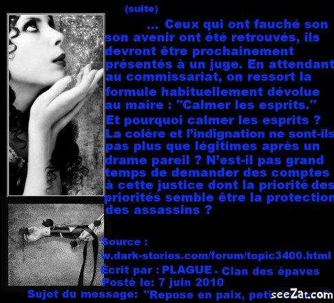 """""""Repose en paix petit homme"""" (partie 8)"""