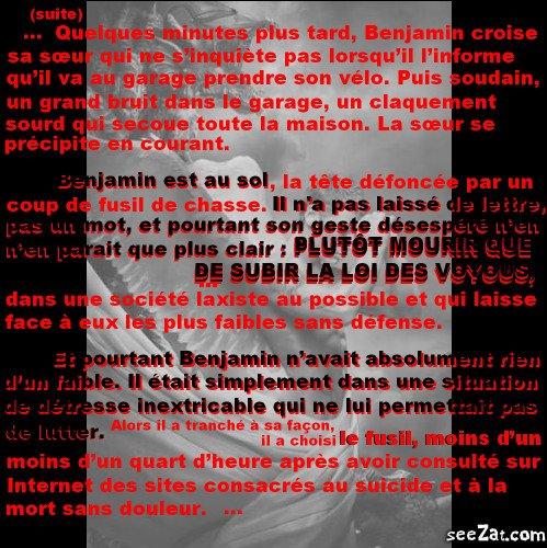 """""""Repose en paix petit homme"""" (partie 7)"""
