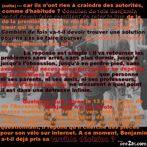 """""""Repose en paix petit homme"""" (partie 6)"""