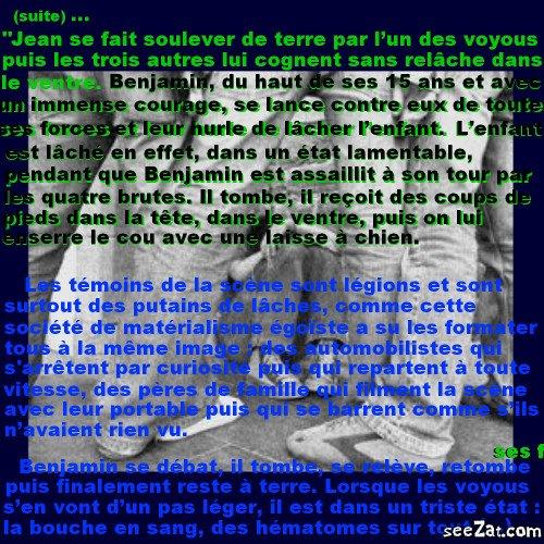 """""""Repose en paix petit homme"""" (partie 4)"""