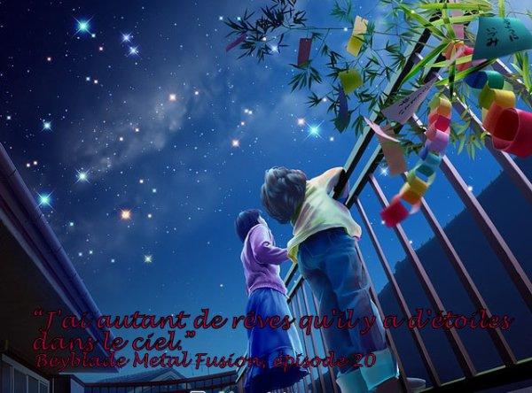 Étoiles = rêves