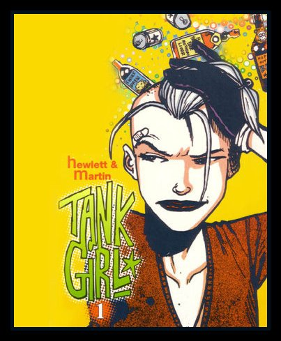 Tank Girl and the other girls