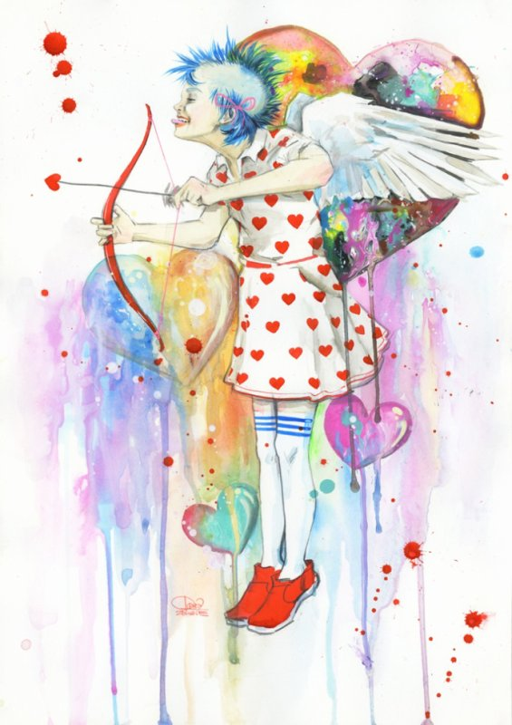 Punk Of Love By Lora Zombie on Deviantart