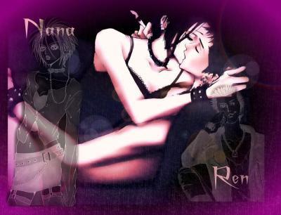 couple Nana et Ren