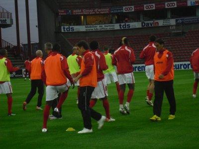 Standard-Hoogstraten.(16ème de final.Coupe de belgique).
