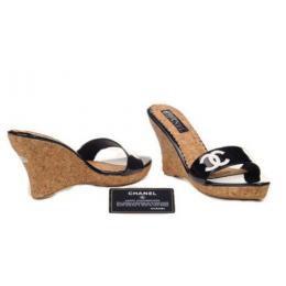 Sandales compensées Chanel