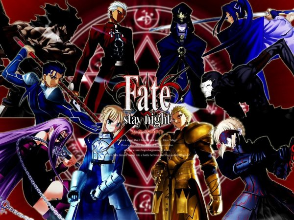 Fate stay night .