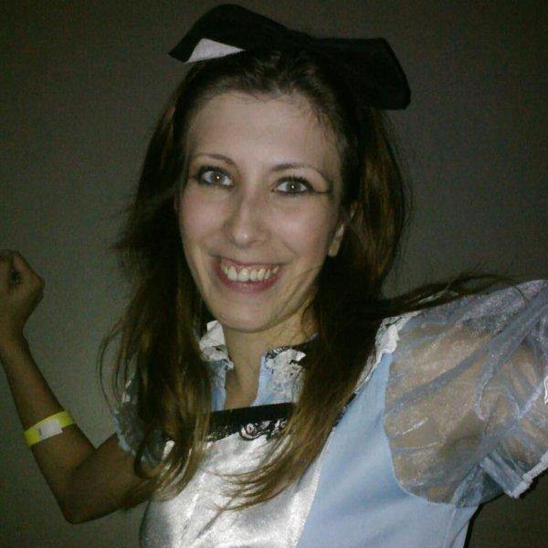 moi a l'halloween 2012 haha :p alice au pays des merveilles