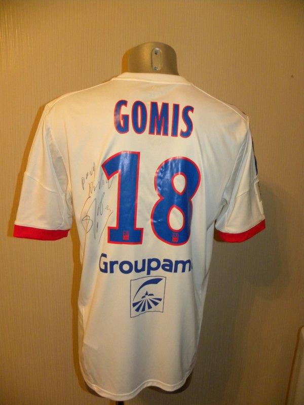 Maillot porté par Bafétimbi Gomis