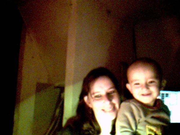 moi et mon fils freddy