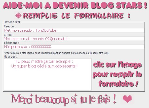 Blog Stars.