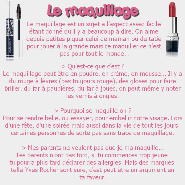 09 - Le maquillage.