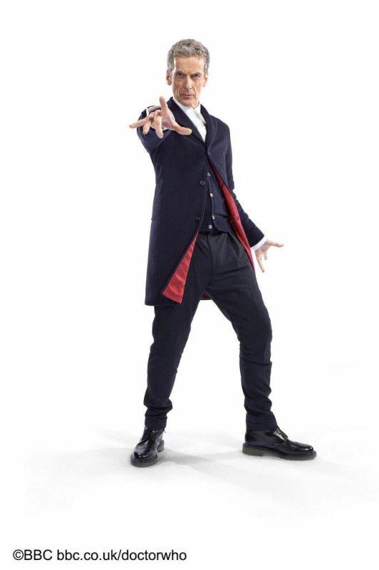 Saison 8, le nouveau costume du Docteur