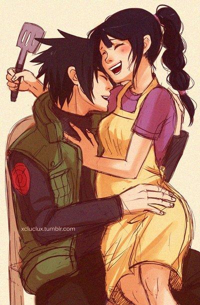 Naaaan, sérieusement Kakashi est trop sex.
