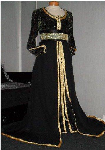 Takchita Noire et dorée
