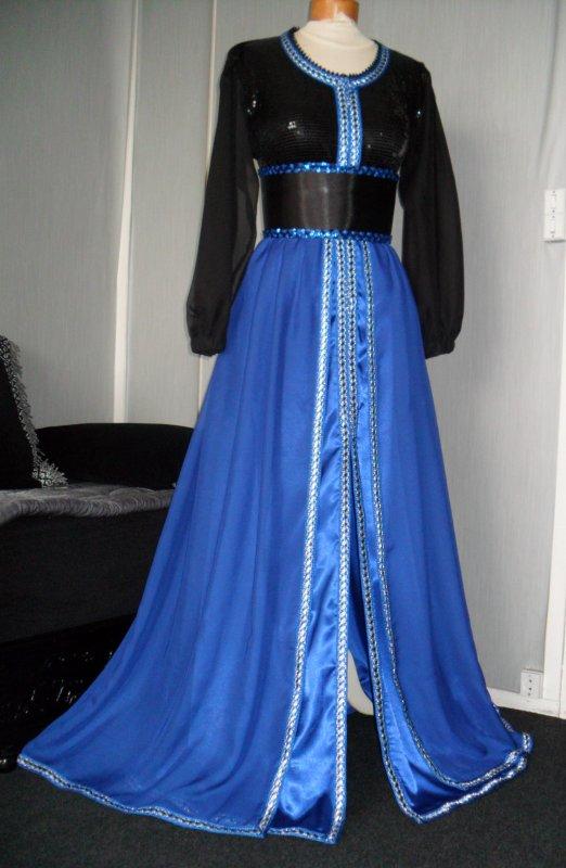Takchita noire et bleu