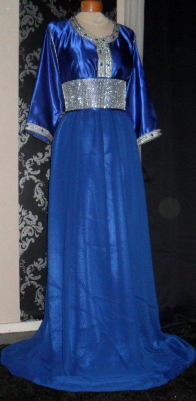 Robe bleu/argent
