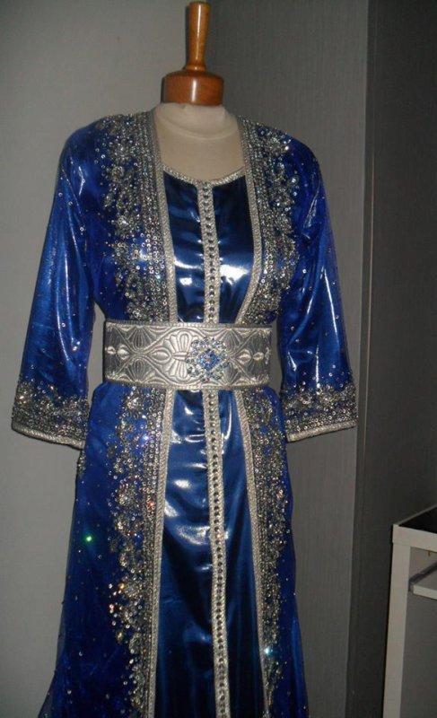 Robe Bleu et Argent