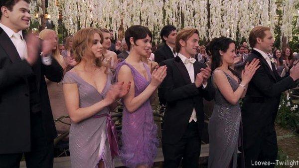 Les acteurs sur le Tournage du Breaking Dawn Partie 1