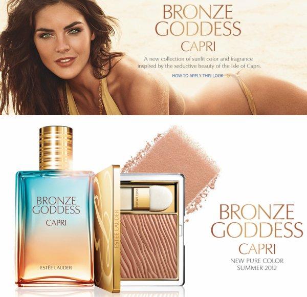 Collection été de chez Estée Lauder : Bronze Goddess Capri