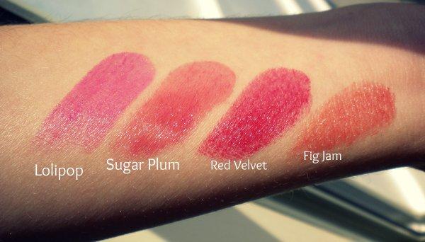 Les Lip Butters de Revlon || Swatchs inside