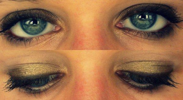 Mon makeup du jour, vous aimez ? ♥
