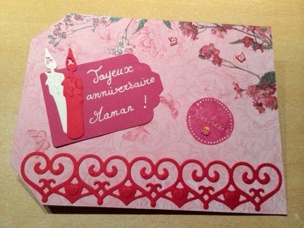 Pochette cadeau pour ma maman