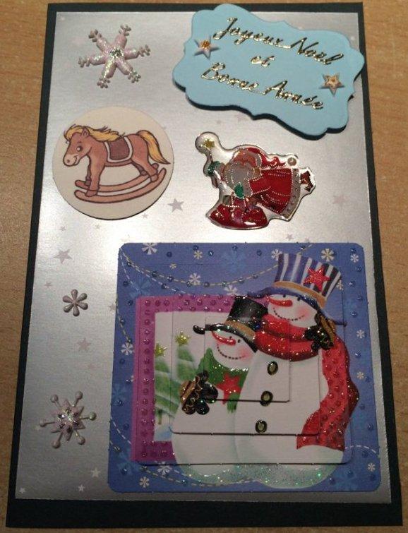 Première carte de Noël de l'année