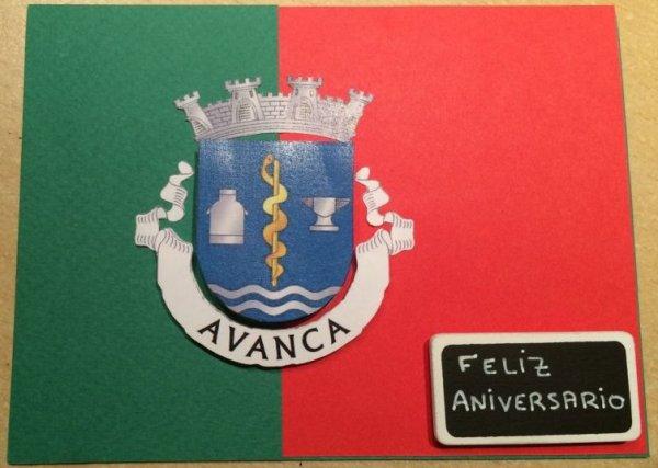 Carte d'anniversaire - Portugal