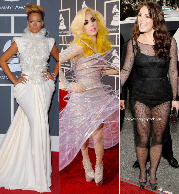 Grammy Awards: Lady GaGa, Britney Spears et Rihanna exclues de la dance!