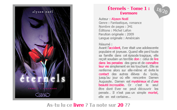Éternels - Tome 1 : Evermore