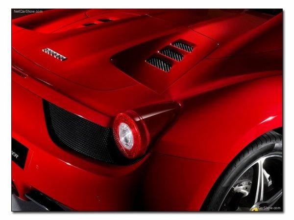Nouveautée : Ferrari 458 Spider 2012