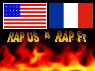 rap us contre rap frencais