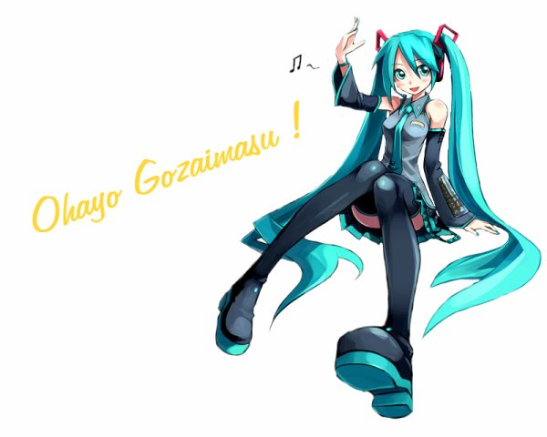 Ohayo Gozaimasu, Everybody !