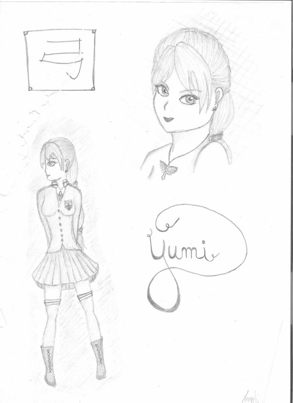 Character #1 - Yumi (1ère édition)