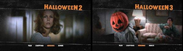 Détails du coffret Pathé Halloween 1 à 5