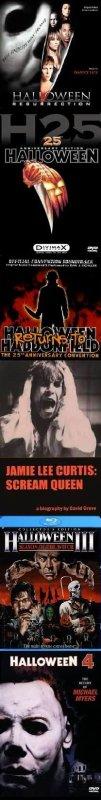 SAGA HALLOWEEN : DVD / BLU-RAY / ALBUMS / BIBLIOGRAPHIE