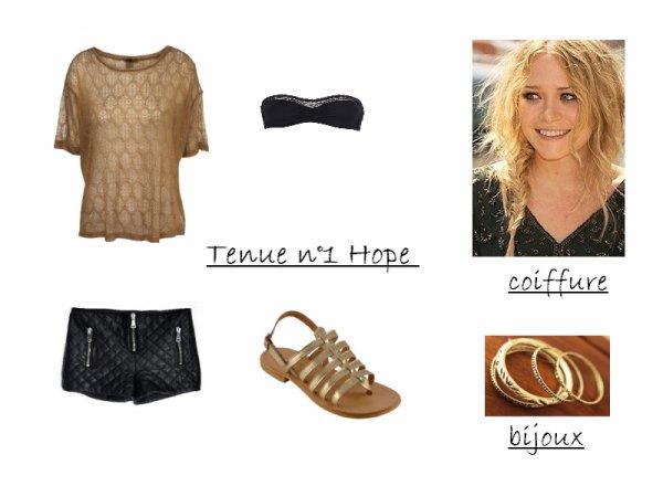 Tenue n°1 Hope
