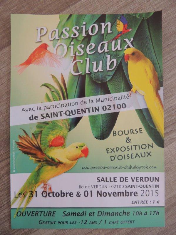 Bourse / Exposition d'oiseaux