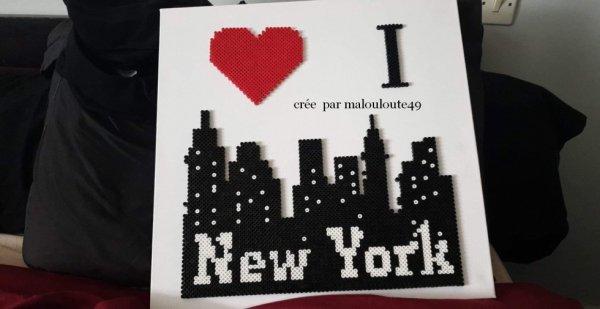 une demande de new york