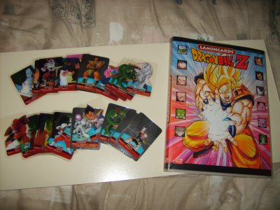 Lamincards Dragon Ball Z