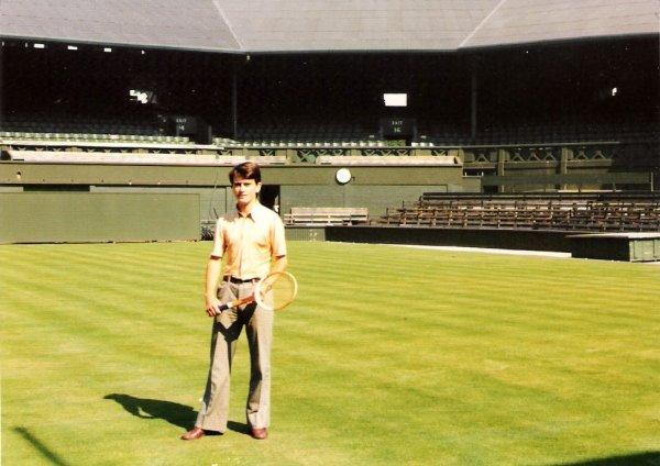 Court central de Wimbledon (08/1975)