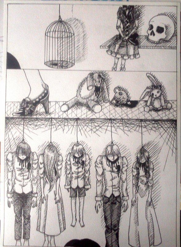 Dessin - planche de manga #2 ( c'est pas le même du tout )