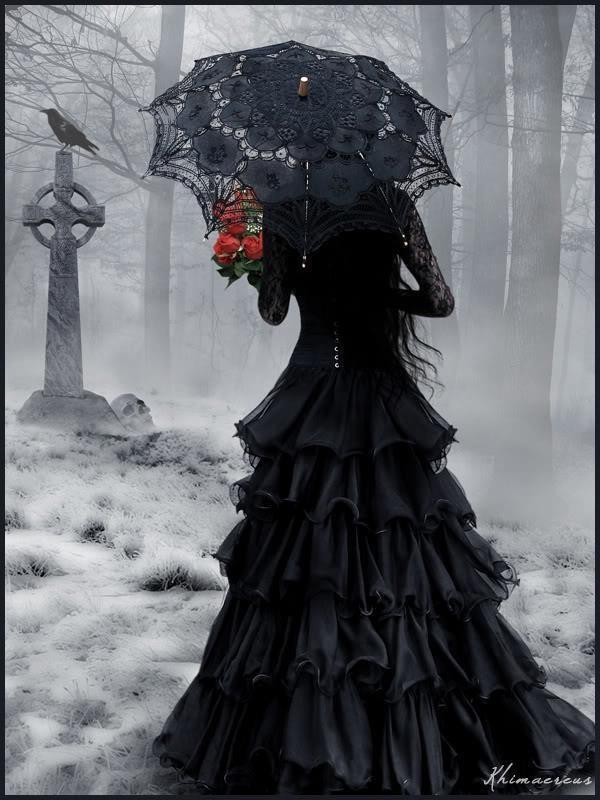 O.S. La veuve de la chapelle