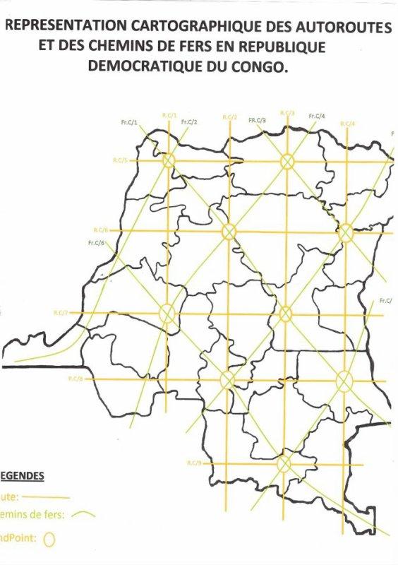 representation de notre vision sur le developpement de la RDCongo