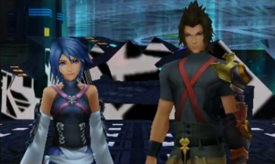 Déscription des personnages de Kingdom Hearts ( : to believe in hope).