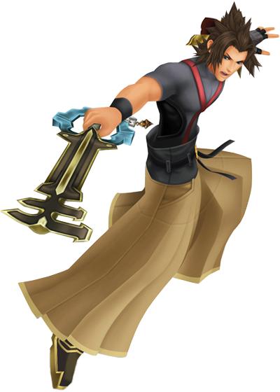 Déscription des personnages de Kingdom Hearts ( : to believe in hope).