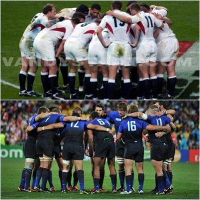 Rugby 1/4 Finale de Coupe du monde 2011.   ANGLETERRE-FRANCE.
